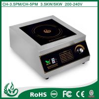 China 2015 Pratical commercial induction hob for kitchen use with 3.5kw on sale