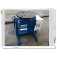 Pipe Automatic Rotary Welding Positioners Manual Tilt 300kg Weldment Manufactures