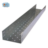 China 350mm Electro Galvanized Steel Cable Tray on sale