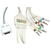 Surgical Plastic EKG Cable Long Screws Snap IEC With Defibrillation , Non - Toxic Manufactures