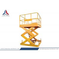 China Fixed Hydraulic Scissor Lift Platform with 3.5m lifting Height for Workshop on sale