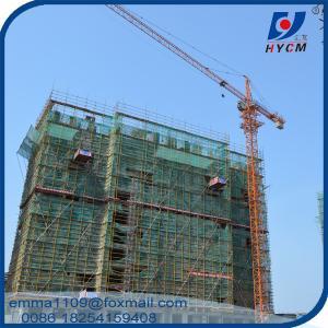 Tower Crain 8tons QTZ80 Types of Construction Cranes Tower 2.5m Mast Manufactures