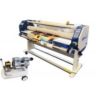 63 Inch Large Format Hot Lamination Machine , Hot Roll To Roll Laminator Equipment Manufactures