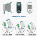 10.4 inch touch screen 100kpa vacuum cryo fat reduction antifreeze cool