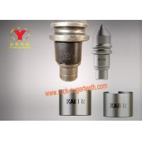 Tungsten Carbide Hard Rock Coal Cutter Picks , Foundation Drilling Tools For Granite Manufactures
