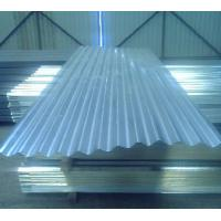SGCC, SGCH, G550 JIS hot dipped Steel Galvanized Corrugated Roofing Sheet / sheets Manufactures