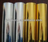 Lables Gold Silver Hot Stamping Foil Rolls Packing Paper 640 Millimeter Width Manufactures