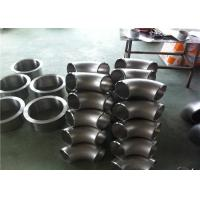 SCH40 Stainless Steel Pipe Fittings Ss 304 Elbow High Precision Corrosion Resistance Manufactures