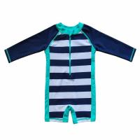 OEM Baby Beach One - Piece Swimsuit UPF 50+ Sun Protective Sunsuit Neck Zip Manufactures
