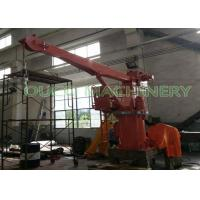 3 Tons 4M Compact Design Ship Crane With Stiff Boom / Hydraulic System Manufactures