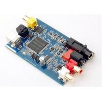 Router Printed Circuit Board Assembly FR-4 Blue Soldmask Pcb Control Board Manufactures