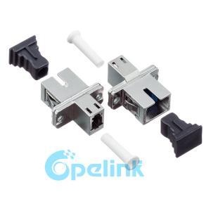 China LC-SC Metal Simplex Singlemode Fiber Optic Adapter For LC Rectangular Type on sale