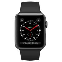 Cheap Apple Watch Series 3 38mm Space Gray Aluminium Case with Black Sport Band Manufactures