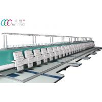 China Professional Computerized Flat Embroidery Machine for Cloth Tee Shirt / Cap on sale