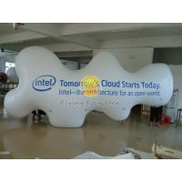 PVC Custom Cloud Shaped Balloons with two sides digital printing for Political events Manufactures