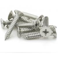 China Stainless Steel 304 Flat Head Self-Tapping Sheet Metal Screw - Phillips Drive_M4*6|M4*100 on sale