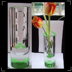 Crystal Glass Decor Flower Vase Manufactures
