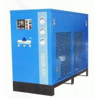 China Large capacity blue refrigerated compressed air dryer low noise 220V 3.8m³/min on sale