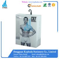 PP Hanging mens underwear box packging Manufactures