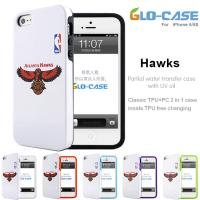 2014  Wholesale NBA Hawks PC with TPU  Mobile Phone Case  for iPhone 5S Manufactures