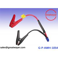 China UL 1015 14AWG custom wiring harness motorcycle Battery Clips , 2 Pin Wire Harness Cable Assembly on sale