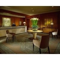 5 Star Hotel Reception Area Furniture Unfolded With Solid Chair Manufactures
