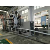 PE Plastic Pipe Making Machine , Water Supply And Gas Supply Pipe Extrusion Line Manufactures