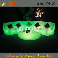 Home Furniture PE LED Sofas Mordern For Club / Corporate Events Manufactures