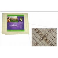 Cotton and silver fiber conductive fabric for earthing sheet
