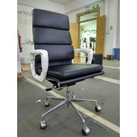 China Simple Modern High Back Executive Office Chair , High Elasticity Leather Executive Chair on sale
