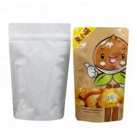 Plantain Chips Packaging Bags Stand Up Pouch With Zipper/Plastic Zipper Aluminum Foil Plastic Bag Manufactures