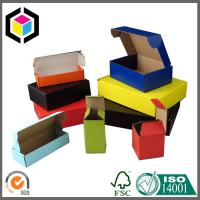 Solid Color Printed Corrugated Mailing Box; Colorful Cardboard Shipping Box Manufactures