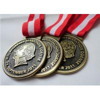 Customized Antique Brass / Copper / Zinc Alloy Plating HC Andersen Marathon medal with Die Casting Manufactures