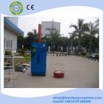 Best popular vertical scrap oil drum baler for sale/steel waste oil drum crusher baler/210L Steel waste oil drum baler Manufactures