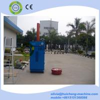 Quality Best popular vertical scrap oil drum baler for sale/steel waste oil drum crusher for sale