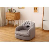 China Lovely Cartoon Childrens Sofa Chair Household Washable Stable Sofa Safe Wooden Frame on sale