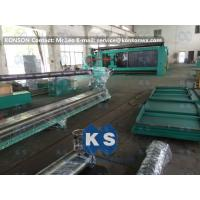 Customized High Efficiency Gabion Box Machine With PLC 100 * 120mm Mesh Size Manufactures