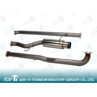 Auto Exhaust System Welding Titanium Pipe OD 70 MM For Heat-Exchangers Manufactures