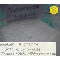 Quality Raw anabolic Hormone Powders Enanthate Testosterone Anabolic Steroid  315-37-7 test e fast growth muscle for sale