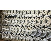 China Galvanized Steel Sheet Spacer Rings For Wrapped Tension Fin Tubes on sale