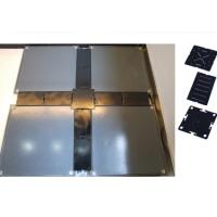 China Steel Raised floor with Cable Tank for OA Intlelligent Building 610 x 610 x 35 mm on sale