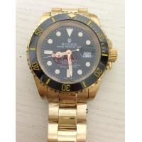 Rolex Submariner gold with black dial Manufactures
