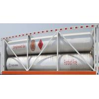 China CNG jumbo cylinder skid on sale