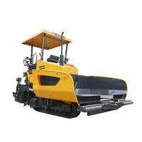 XCMG Concrete Asphalt Paver Machine Rental , 12 tons Hopper Capacity Road Paving Machine Manufactures