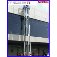 China Multi Mast Type Vertical Mast Lift 16m Platform Height With 160 kg Load on sale