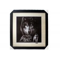 Buy cheap Stock 5D pictures with Frame 3D Lenticular Pictures Popular Wolf Image from wholesalers