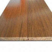 Click System Strand Woven Bamboo Flooring with E1 Standard Glue, Ideal for Household and Commercial Manufactures