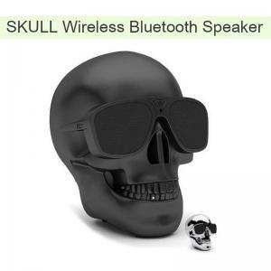 Wholesale  Skull Wireless Bluetooth Speaker Super Bass Glasses Subwoofer Multipurpose Aero Skull Speaker Manufactures
