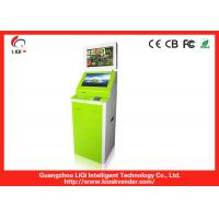 China Freestanding Touch Screen Kiosk Vending Machines With Information LCD Monitor LCD Freestanding on sale