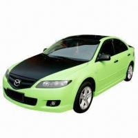 Fashionable Matte Green Colored Membrane Vinyl Car Sticker with Air Channel, Gas Permeable Manufactures